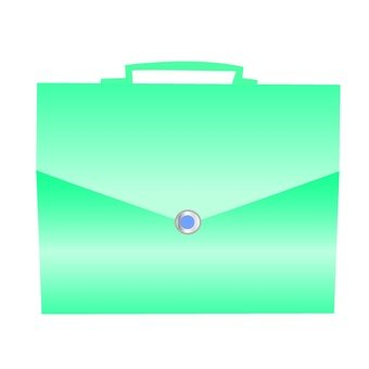 Business bag (blue)