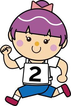 Girl 16_07 (running · number 2)