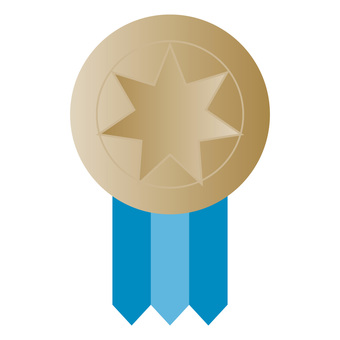 Star's Medal Blue