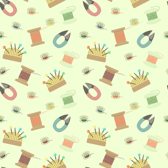 Sewing tools wallpaper 2