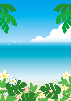 Summer flyer background 5