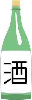 One liter bottle