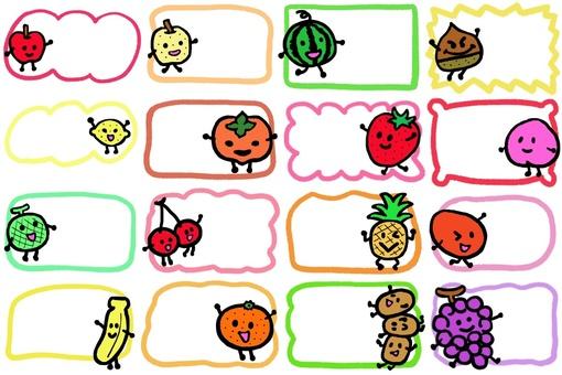 Various fruits
