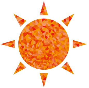 Sparkling sun