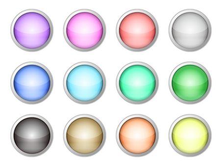 Aqua button