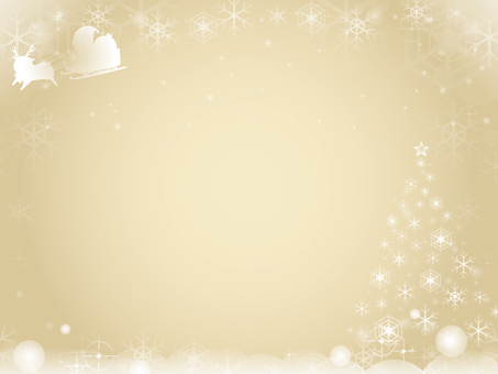 Santa Claus and tree background 2