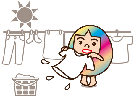 Mom / Washing