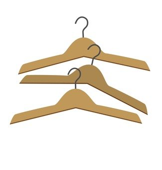 Wooden hanger 02