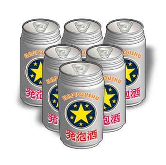 Low-malt beer