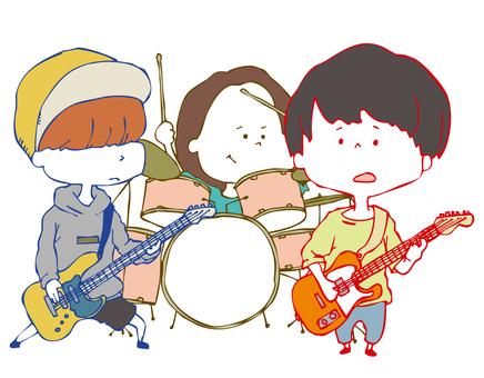 3 피스 밴드