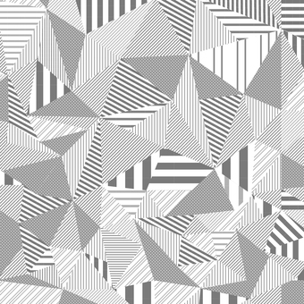 Striped monochrome geometric pattern 02