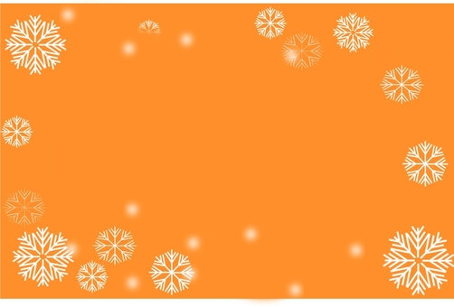 Snow background material (Orange)