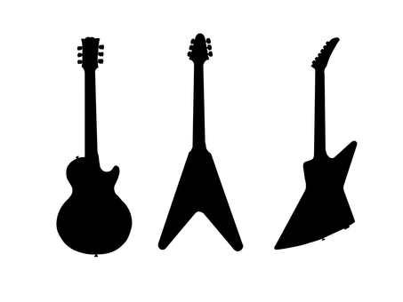 Guitar silhouette 2