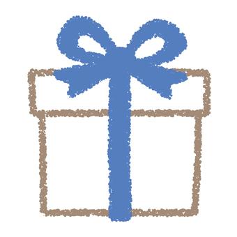 Gift box _ blue