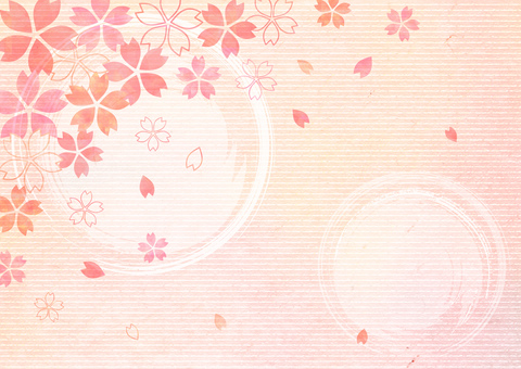 Japanese paper _ cherry tree background