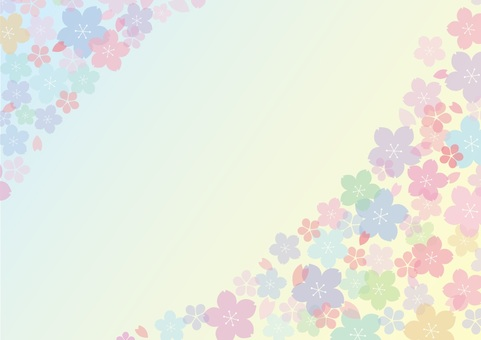Pastel cherry background 4