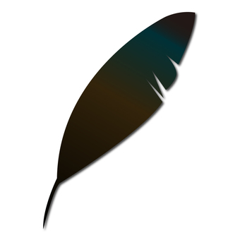 까마귀의 깃털