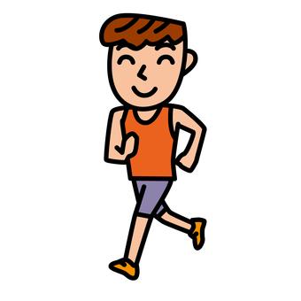 People - Running - m 04