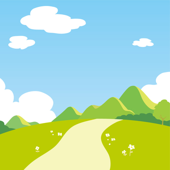 Trekking background
