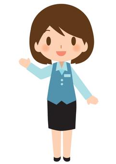 비즈니스 여성 1