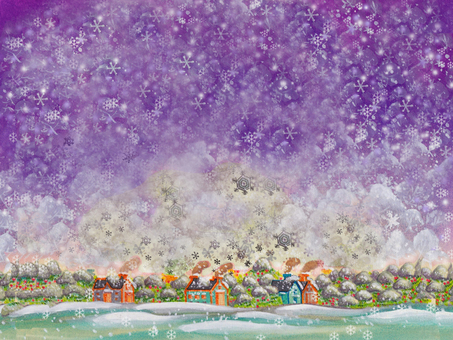 Townscape _ Snow Forest 01