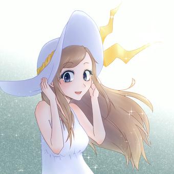 Girl icon 6