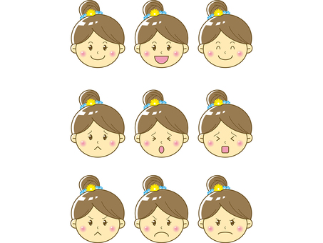 Child / girl face 03