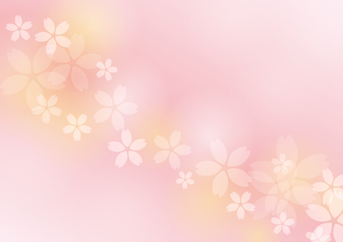 Spring Material 111 Cherry background