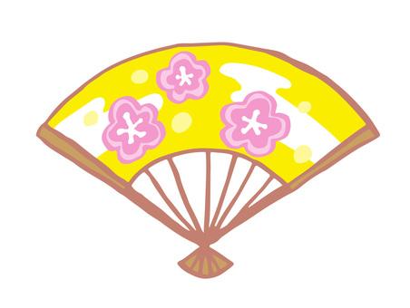 Fan (plum handle)