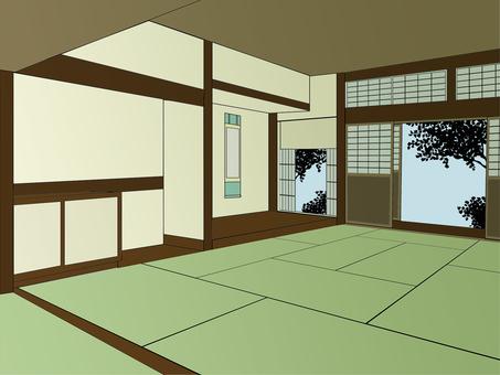 일본 가옥 - 컬러