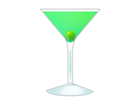 Cocktail green