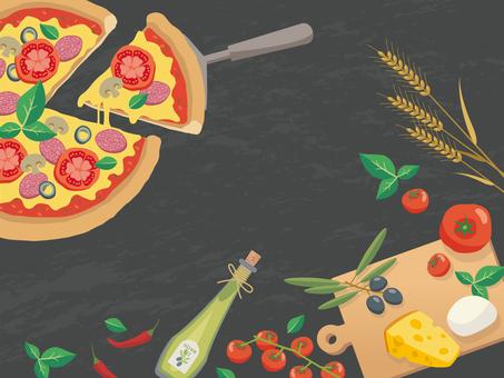 ピザを作る