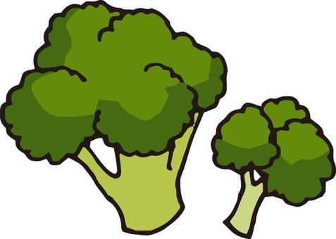 Vegetables (broccoli · 2 pieces)
