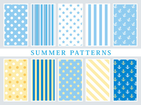 SUMMER PATTERNS vol1