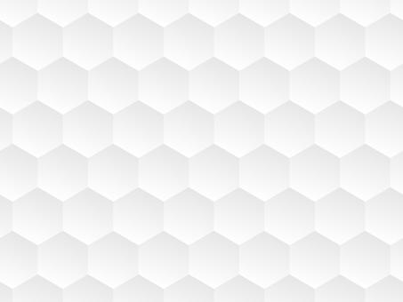 Pattern Hexagon White