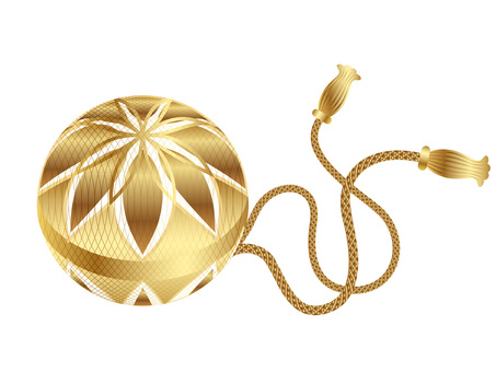 New Year Stock Collection golden ball