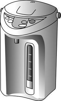 Heat holding pot