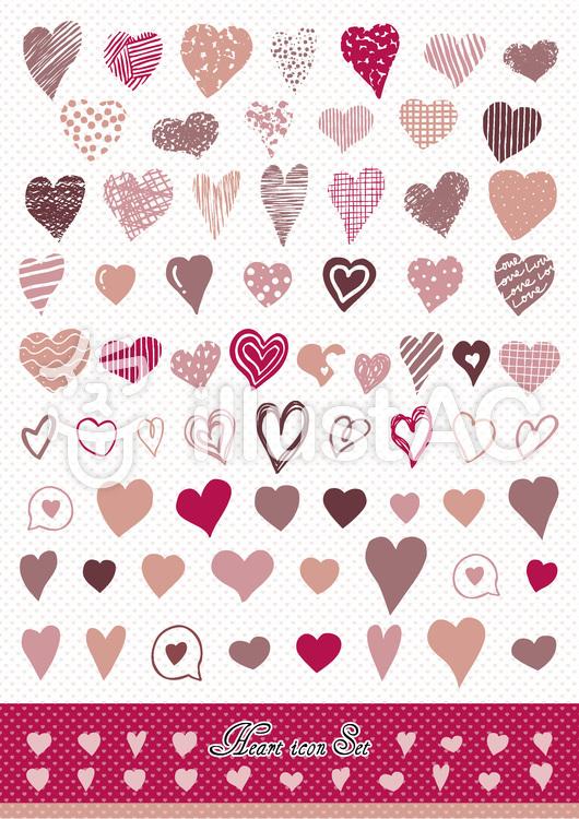 heart icon set2のイラスト