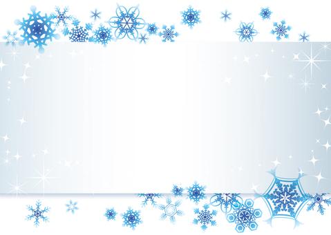 겨울의 메시지 카드 2