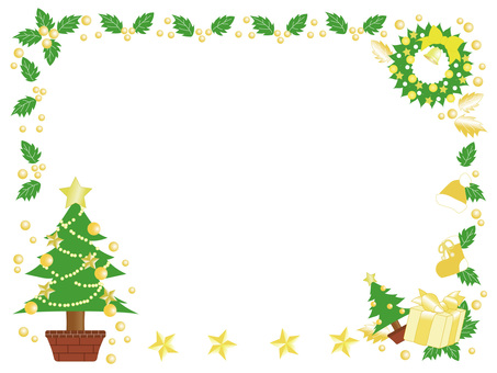 Frame for Christmas _ Yellow