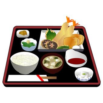 Tempura set menu