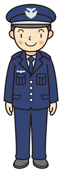 Air Self-Defense Officer (winter clothing)