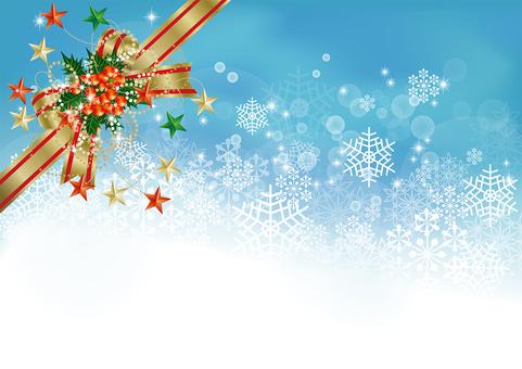 Snow Crystal & Ribbon 12