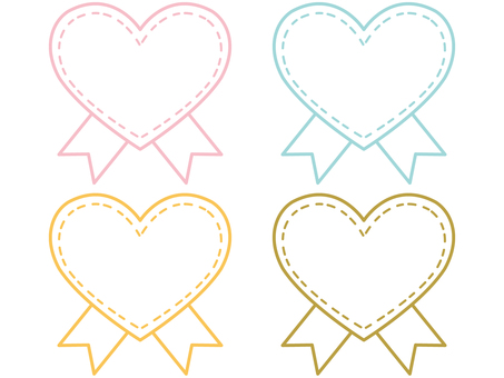 Heart ribbon 1