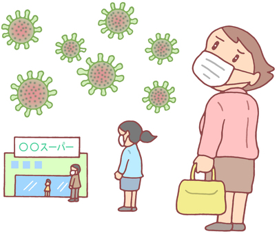 Infection control for shoppers