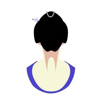 Geiko's hair style