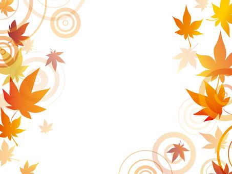 Autumnal leaves ripple frame 1