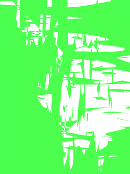 Abstract pattern (green)