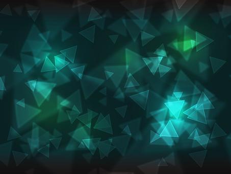 三角燈·深綠色