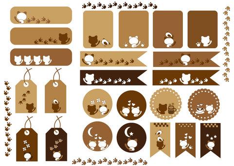 Cat's icon set
